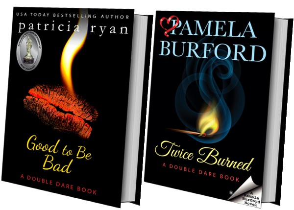 Book covers: Good to Be Bad and Twice the Spice